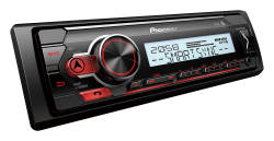 Pioneer MVH-MS410BT MARINE Odtwarzacz bez CD  | Bluetooth |  USB | Spotify | iPhone & Android