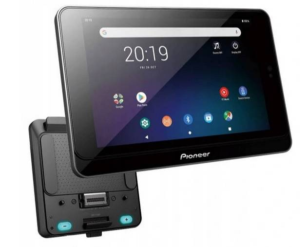 Pioneer SPH-8TAB-BT ( SDA-8TAB & SPH-T20BT )  Odtwarzacz multimediów   | Android tablet | Google Play | BLUETOOTH